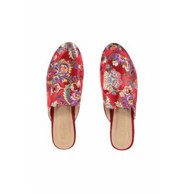 DAAN SATIN FLOWERS red