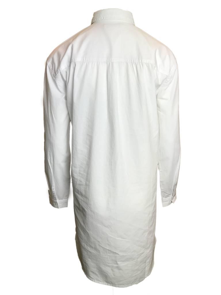 24COLOURS LONG SHIRT white