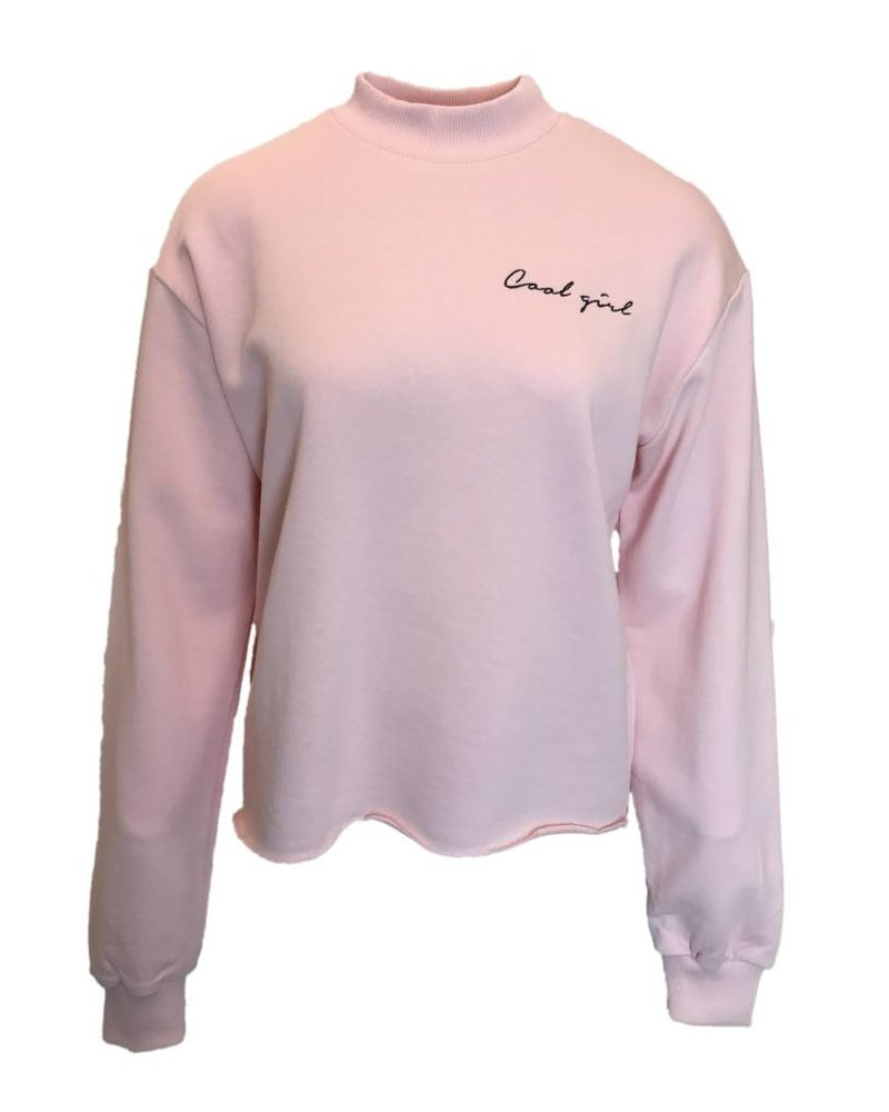 NA-KD COOL GIRL SWEAT rose