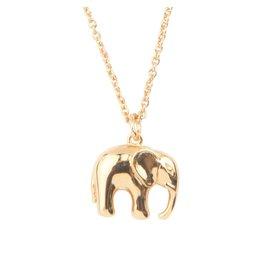 ATLITW ELEPHANT NECKLACE gold