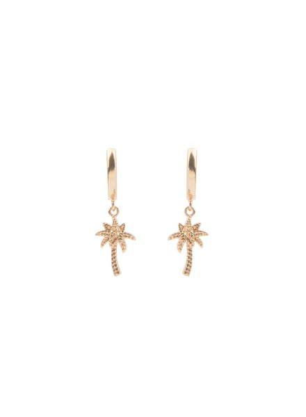 ATLITW PALM EARRING gold