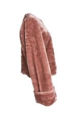 NA-KD FAUX FUR pink