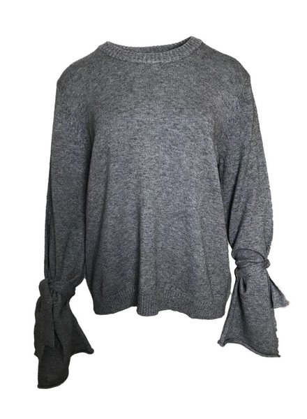 NA-KD KNITTED SLEEVE grey