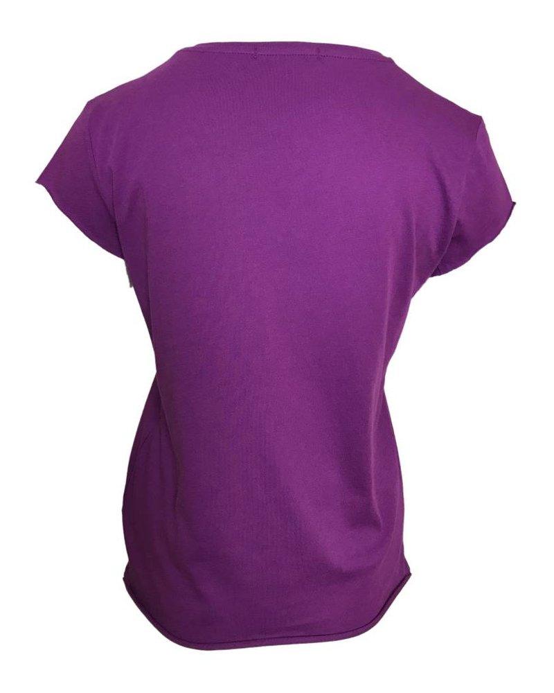 NA-KD RAW SHIRT purple