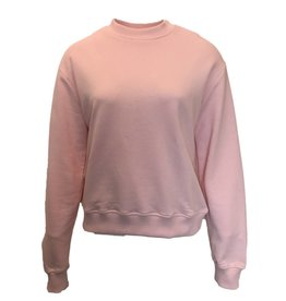 NA-KD BASIC SWEATER rose