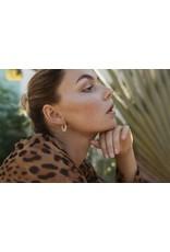 Eline Rosina HIGH SHINE HOOPS gold