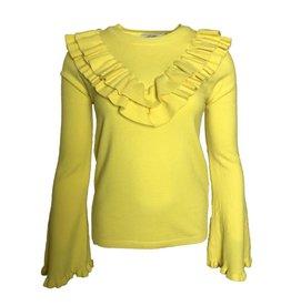 SPRING RUFFLES yellow