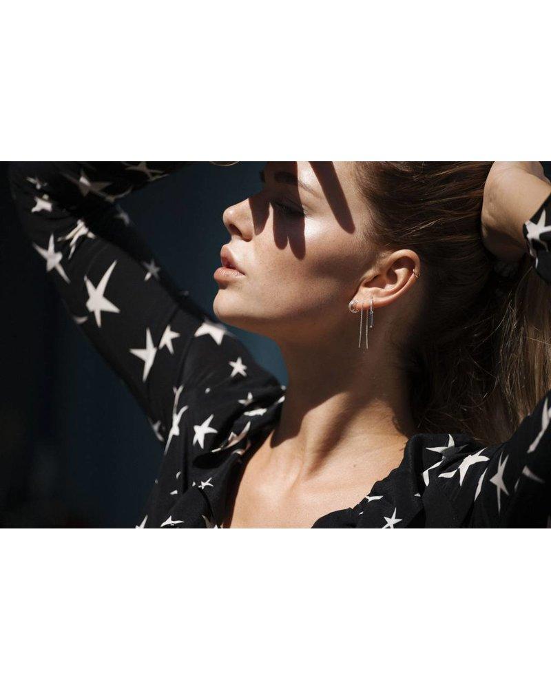 Eline Rosina TRINITY HOOPS gold