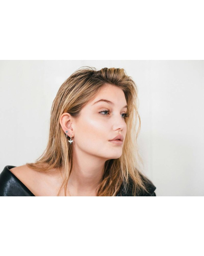 Eline Rosina EAGLE HOOPS silver