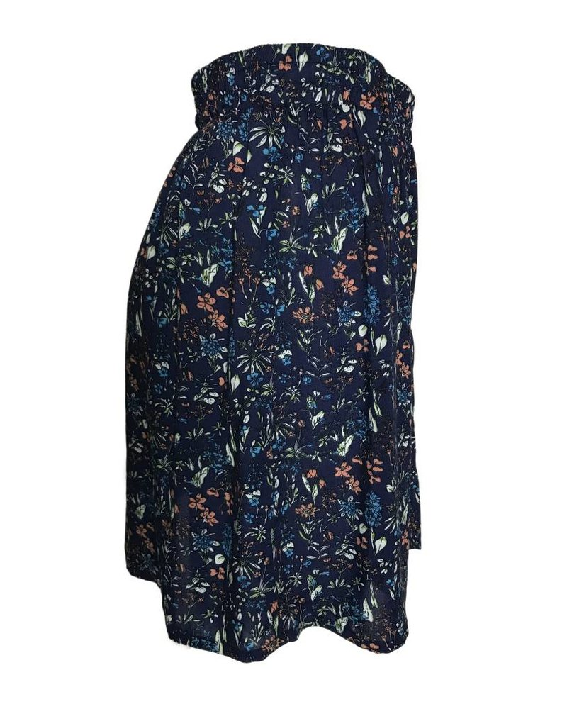 24COLOURS SUMMER FLOWERS navy