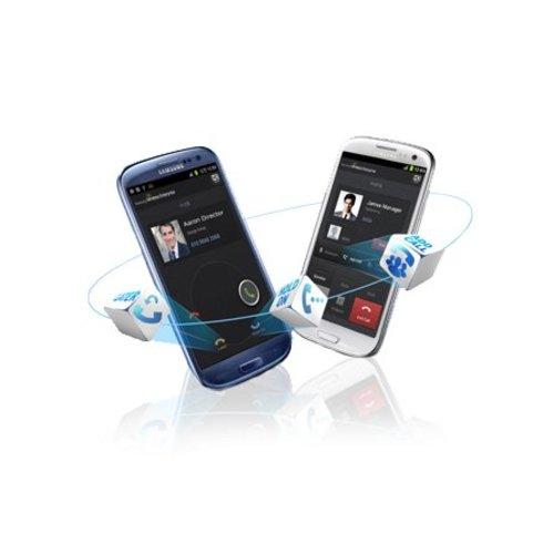 Samsung Hosted Voice vast- en mobiel integratie