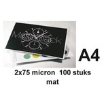 GBC Lamineerhoes GBC A4 2x75micron Mat 100vel