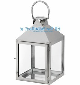 14 Inch Chrome Lantern