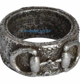 Silver Stirrup Napkin Ring
