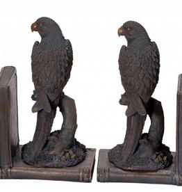 Parrots Bookends