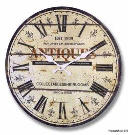 J P Ashbury Antiques Clock