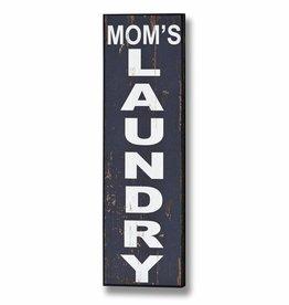Mum's Laundry Wooden Plaque