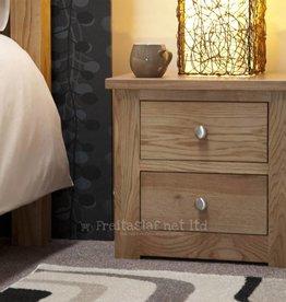 Torino Oak Narrow Bedside