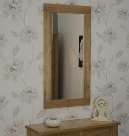 Opus Oak Tall Wall Mirror