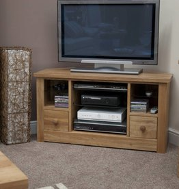 Torino Oak Corner TV Unit