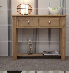 Torino Oak Console Table