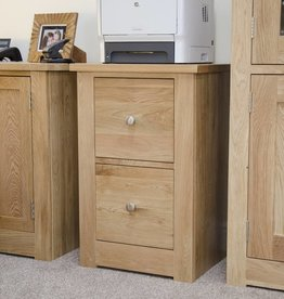 Torino Oak Filing Cabinet