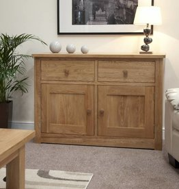 Torino Oak Medium Sideboard