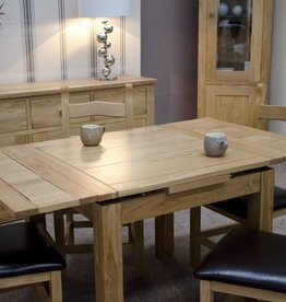 Elegance Oak Small Extending Dining Table