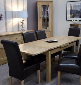 Elegance Oak Medium Extending Dining Table
