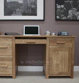 Opus Oak Large Desk