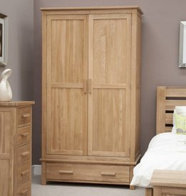 Opus Oak Gents Wardrobe