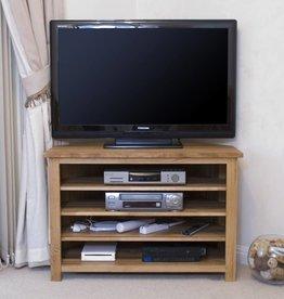 Opus Oak Corner TV Plasma Unit