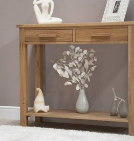 Opus Oak Console Table