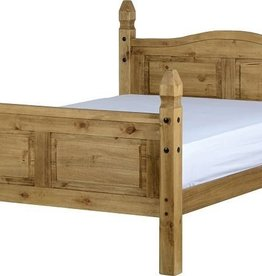 Corona High Foot End Bed