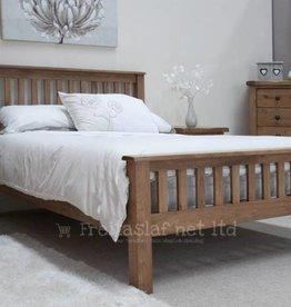 Rustic Oak Bed