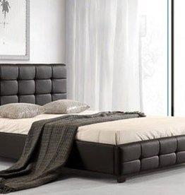 Lattice Leather Bed