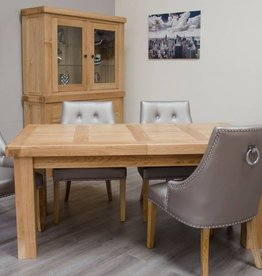 Bordeaux Solid Oak Large Dining Table