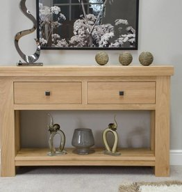 Bordeaux Solid Oak Console Table