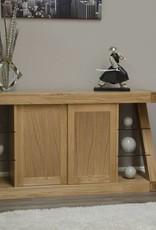 Z Designer Solid Oak Large Sideboard