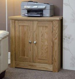 Torino Oak Printer Occasional Cabinet