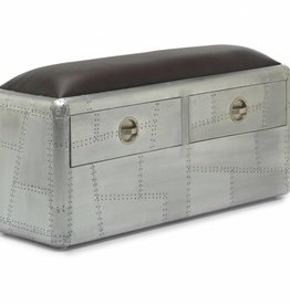 Aviator S 2 Drawer Bench