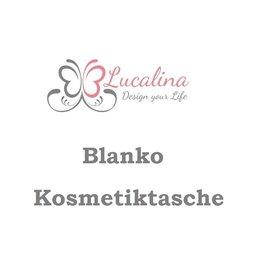 Foldover Kosmetiktasche *Blanko* personalisiert