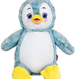 Lucalina Schmusi´s Schmusi - Pinguin hellblau, ca. 30 cm
