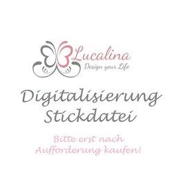 Digitalisierung / Stickdatei groß