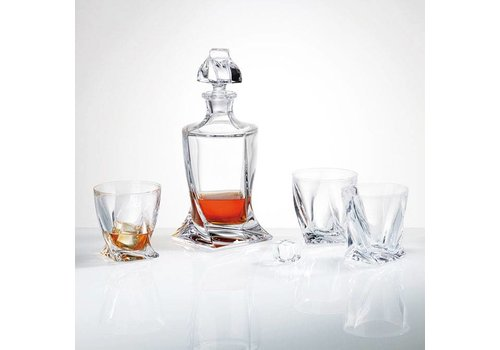 Twist Crystal Decanter
