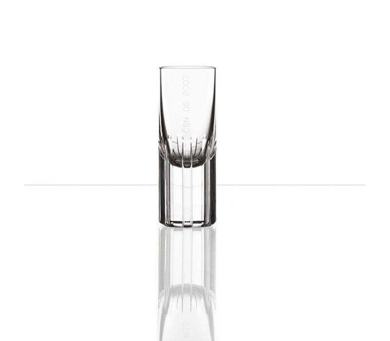 Splined Shaft shot glasses by Studio Koncern Design, set of 2