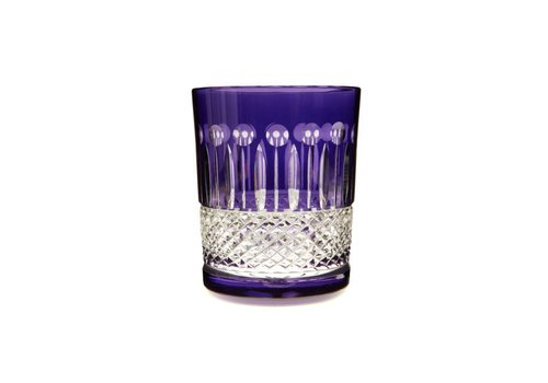 Gurasu Crystal  Rainbow Purple Tumblers, set of 2