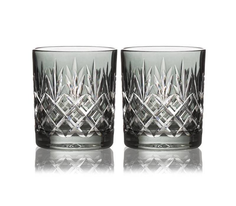 Pineapple Smoke Double Old Fashioned, set of 2