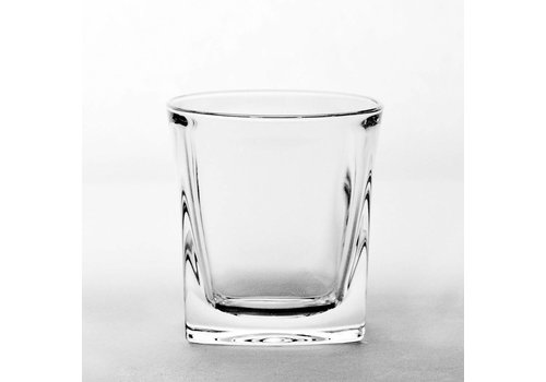 Modern Crystal Whiskey Tumblers, set of 2
