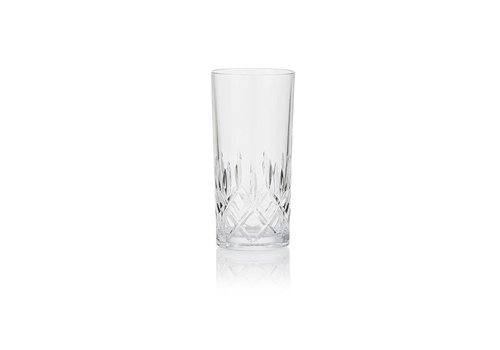 Crystal Long Drink Glasses, set of 6